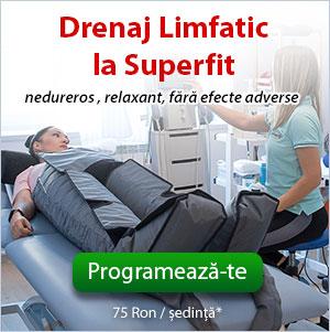 Drenaj limfatic Bucuresti, la centrul Superfit