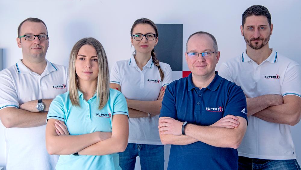 Echipa Centrului Medical Superfit