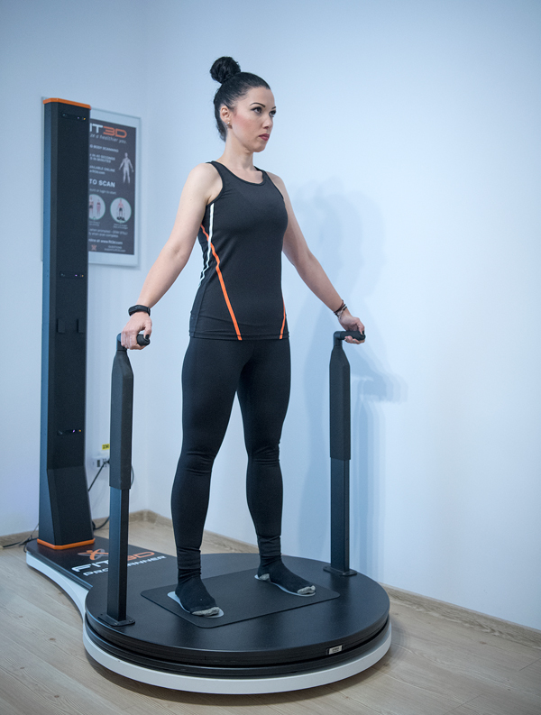 scanarea în greutate a corpului 3d)